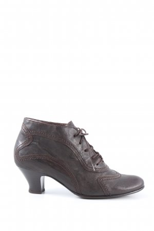Gabor Lace-up Pumps brown casual look