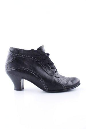 Gabor Schnür-Stiefeletten schwarz klassischer Stil