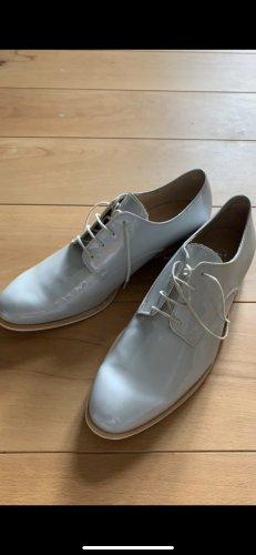 Gabor Schnürschuhe Silber grau