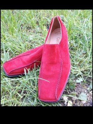 Gabor Chaussure de travail rouge