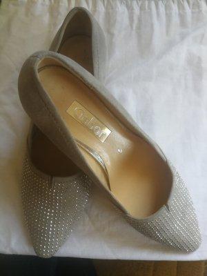 Gabor Stiletto argenté-gris clair