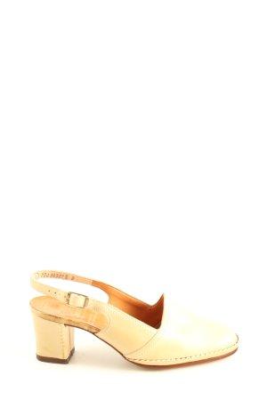 Gabor Slingback-Pumps creme Casual-Look
