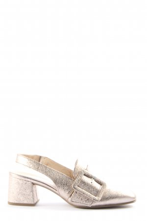 Gabor Slingback Pumps gold-colored casual look