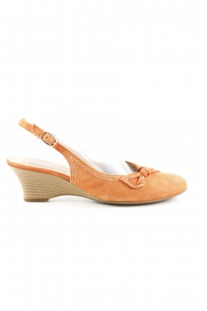 Gabor Slingback-Pumps hellorange Business-Look