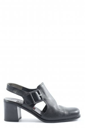 Gabor Slingback-Pumps schwarz Casual-Look