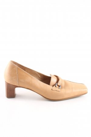 Gabor Slingback-Pumps nude Casual-Look