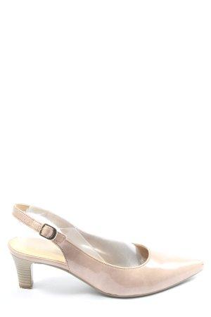 Gabor Slingback-Pumps creme Elegant