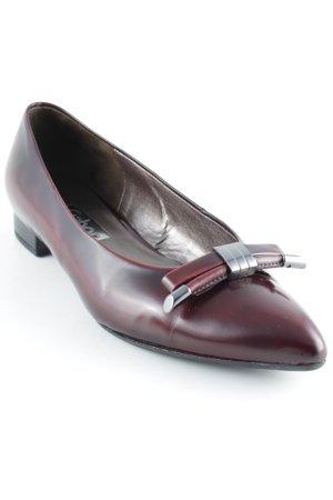 Gabor Slippers dark red elegant