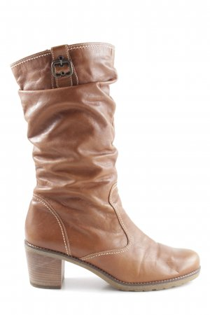 Gabor Slouch Boots light orange casual look