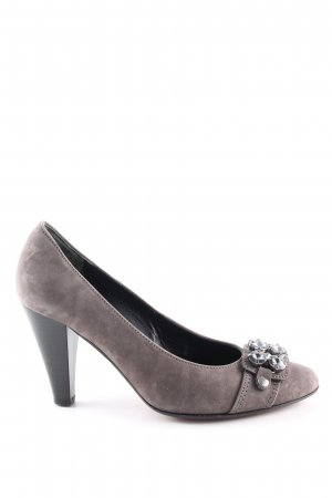 Gabor Spangen-Pumps hellgrau Casual-Look