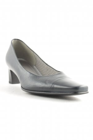Gabor Spitz-Pumps anthrazit Casual-Look