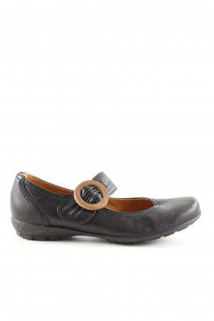 Gabor Sport Mary Jane Ballerinas black street-fashion look
