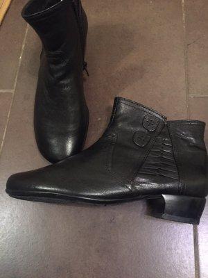 Gabor Krótkie buty ciemnobrązowy
