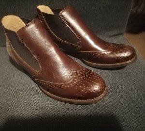 Gabor Botte courte brun