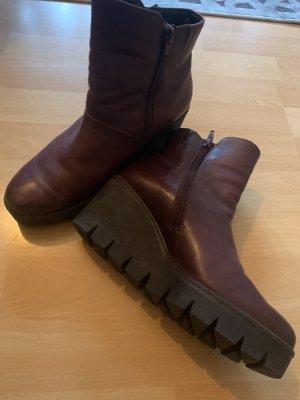 Gabor Stiefeletten Stiefel rot Schuhe 37