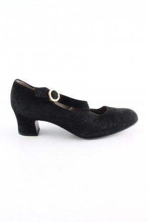 Gabor T-Steg-Pumps schwarz Business-Look