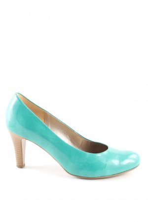 Gabor Loafers turquoise casual look