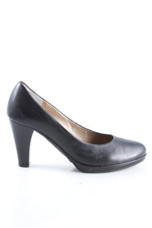 Gabor Loafers zwart casual uitstraling