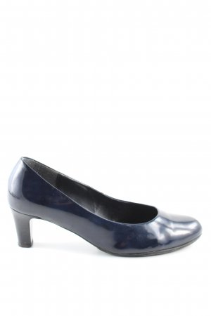 Gabor Trotteur blau Business-Look
