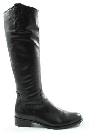 Gabor Wide Calf Boots black casual look