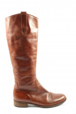 Gabor Wide Calf Boots brown casual look