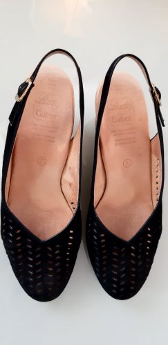 Gabor Wedge Pumps black