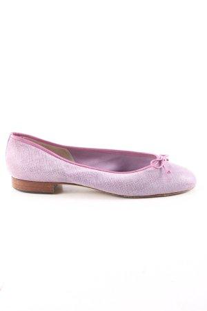 Gabriele Lakleren ballerina's lila Webpatroon casual uitstraling