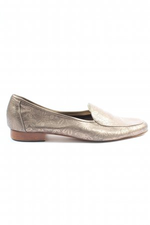 Gabriele Moccasins bronze-colored allover print casual look