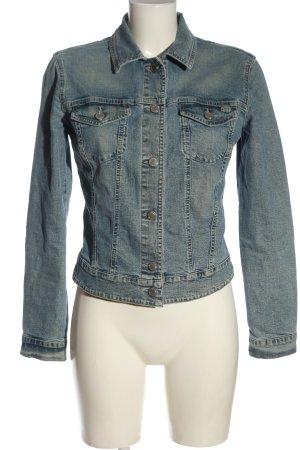 Gabriele Strehle Jeans Jeansjacke blau Casual-Look