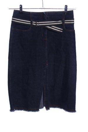Gabriele Strehle Jeans Jeansrock blau Casual-Look