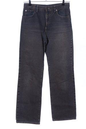 Gabriele Strehle Jeans Straight-Leg Jeans hellgrau Casual-Look