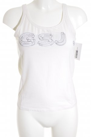 Gabriele Strehle Jeans T-Shirt wollweiß-creme Casual-Look