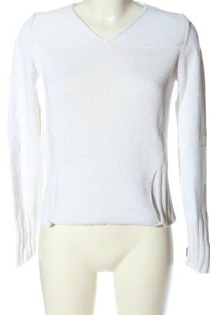Gabriele Strehle Jeans V-Ausschnitt-Pullover