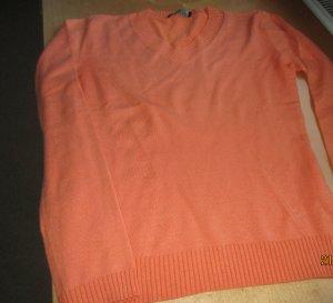 Strenesse Gabriele Strehle V-Neck Sweater orange cotton