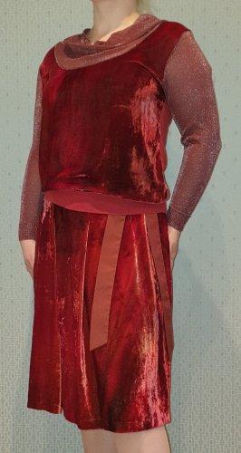 Gabriella Frattini Traje para mujer rojo-rojo oscuro