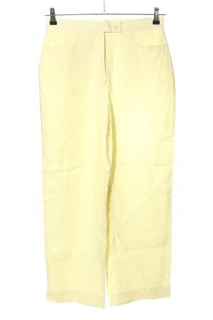 Gaby Mersmann design Marlenehose blassgelb Casual-Look