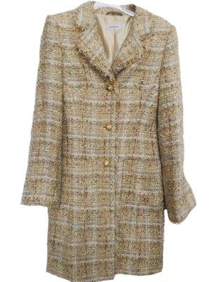 GADDIES-Blazermantel in Chanel Stil - Gr. 34 - beige-offwhite ++ TOP ZUSTAND ++