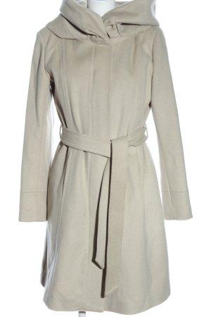 Gaddis Cappotto con cappuccio bianco sporco stile professionale