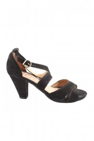 Gadea High Heel Sandaletten schwarz Casual-Look