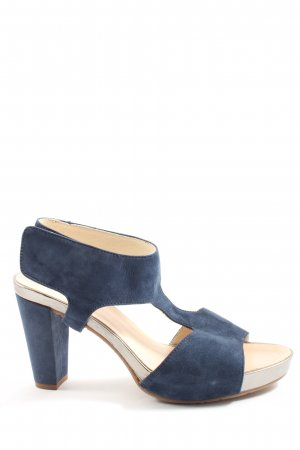 Gadea High Heel Sandaletten blau Casual-Look