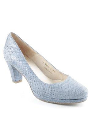 Gadea High Heels stahlblau schlichter Stil