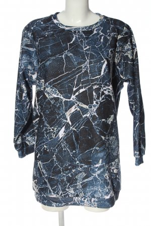Gaelle Bonheur Sukienka dresowa Abstrakcyjny wzór W stylu casual