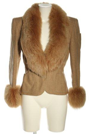 gai mattiolo Fur Jacket brown casual look