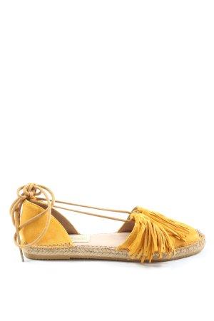 gaimo Espadryle bladożółty W stylu casual