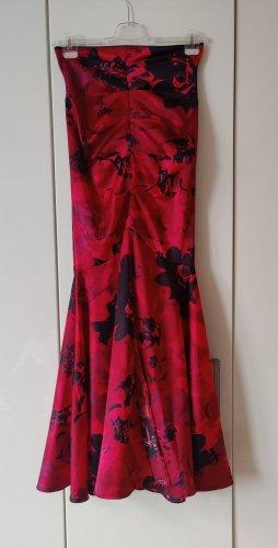 Karstadt Maxi Skirt black-red