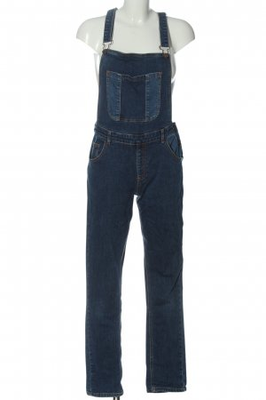 Galeries lafayette Bib Denim blue casual look