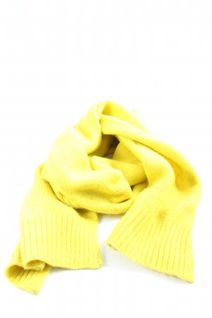 Galeries lafayette Knitted Scarf primrose casual look