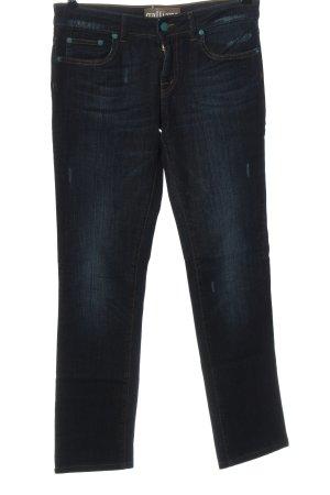Galliano Hüftjeans blau Casual-Look