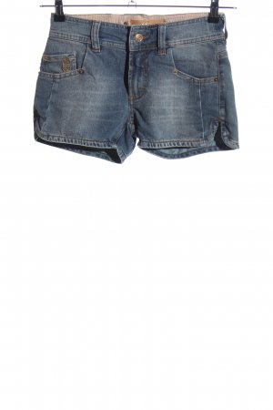Galliano Jeansshorts blau Casual-Look