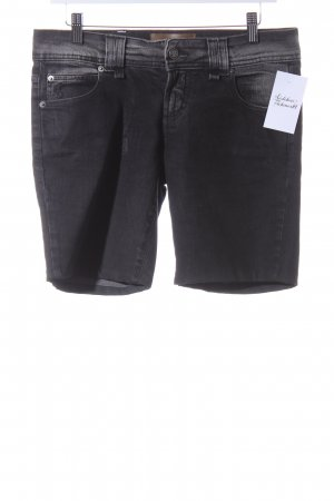 Galliano Jeansshorts anthrazit Casual-Look